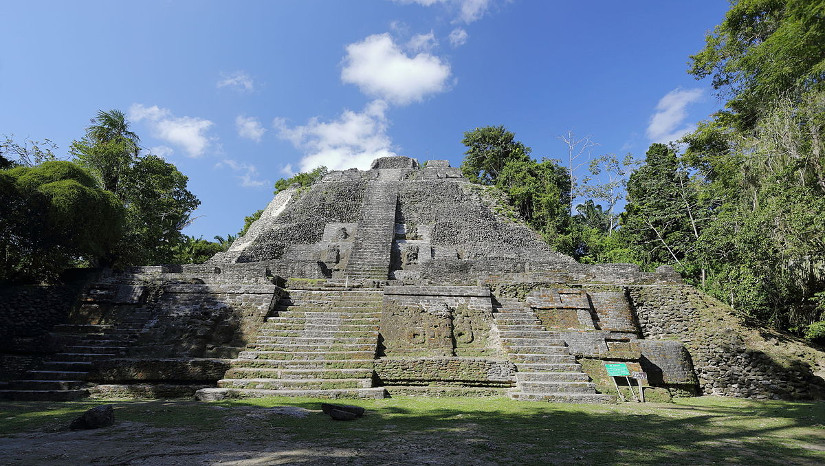 Mayan Ruins - Lamanai High Temple