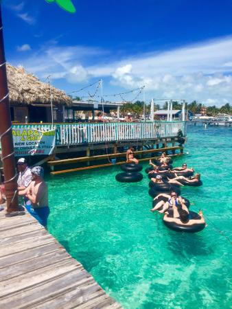 Floating at the Palapa Bar